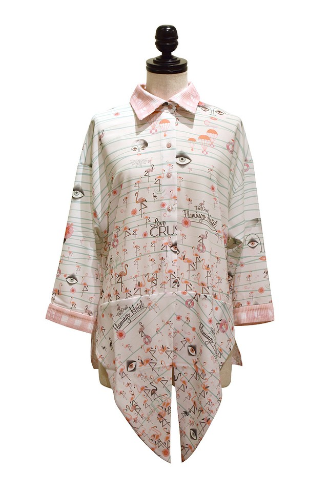 Katty Xiomara / FLAMINGO SHIRT / print