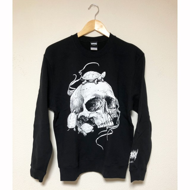 Turtle&Skull Sweat (Black)