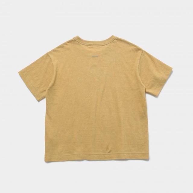 MOUNTEN.  reflector logo T (beige)110 125 140 [MT201010-a] MOUN TEN. ※メール便可