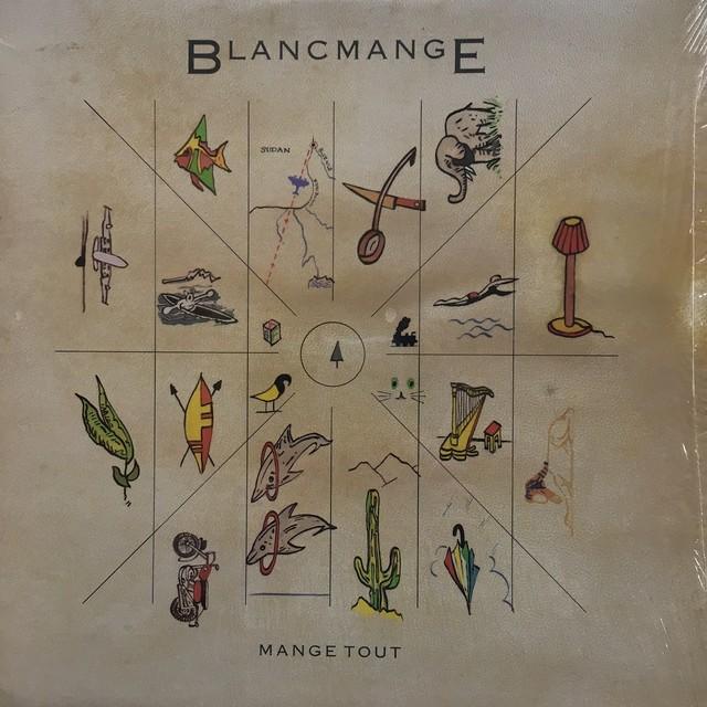 【LP・米盤】Blancmange / Mange Tout