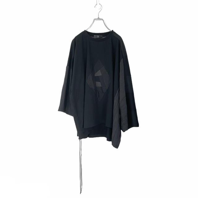 Wide-T-shirts mut PW (black)