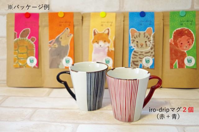 iro-drip緑茶3個入り5種+iro-dripマグ2個セット