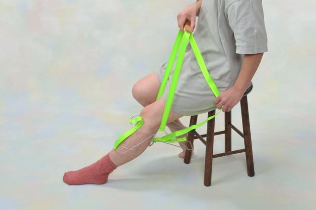 「はきやす」携帯タイプ(腰を曲げずに靴下が簡単に履けます!)