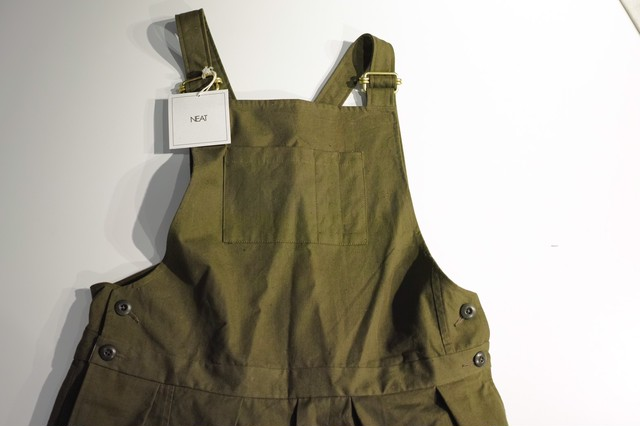 NEAT <OVERALL> VINTAGE TENT CLOTH Size:L