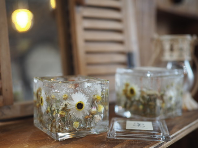 Flower aroma candle 7