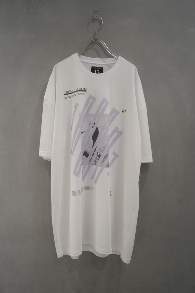 room13  Graphic T-Shirt human  white