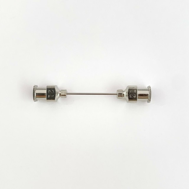 【工業・実験/研究用】 VAN金属連結針 21G×20 1本入(医療機器・医薬品ではありません)