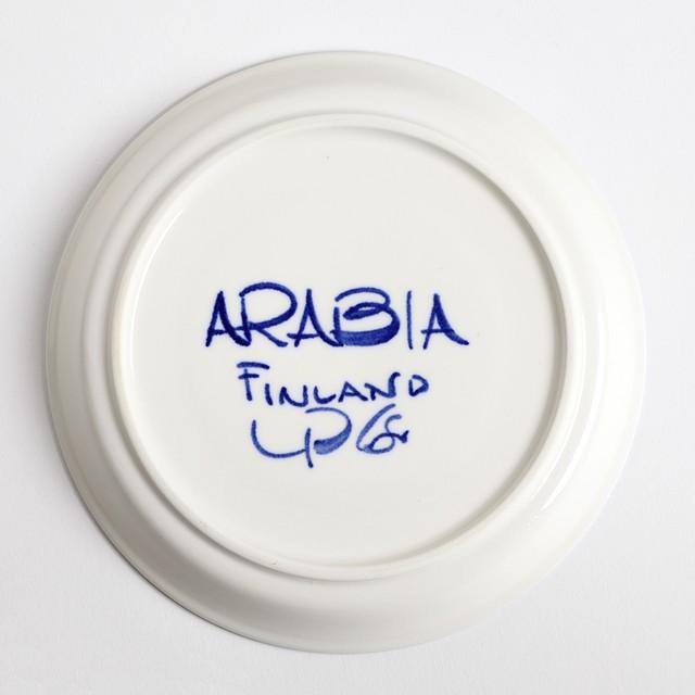 ARABIA アラビア Valencia バレンシア 100mmティーカップ&ソーサー - 10 北欧ヴィンテージ