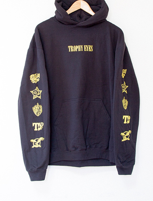 【TROPHY EYES】Icons Hoodie (Black)