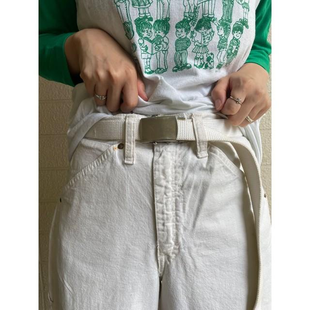 ELY WHT PAINTER PANTS