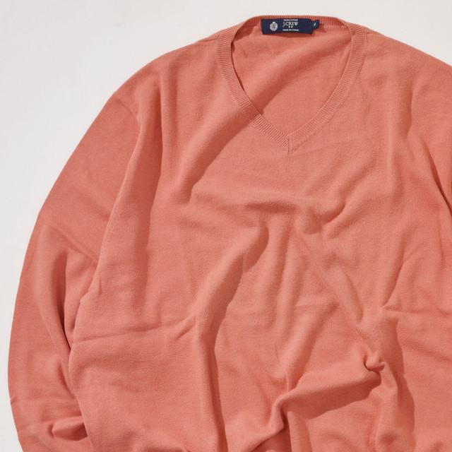 【Lサイズ】BANANA REPBLIC バナナリプバリック V-Neck Sweater ブイネックセーター BURGD バーガンディー L 400604191121