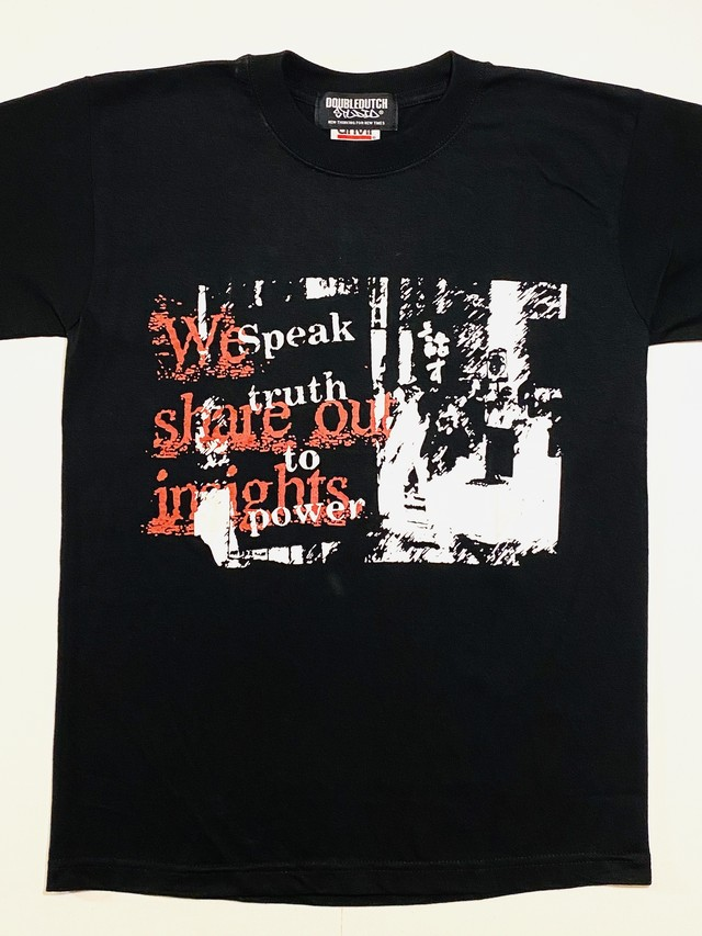 dead stock・話すティシャツ ブラック