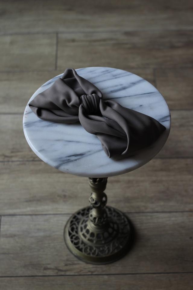 【La Maison de Lyllis】BUNDLE TIE-khaki