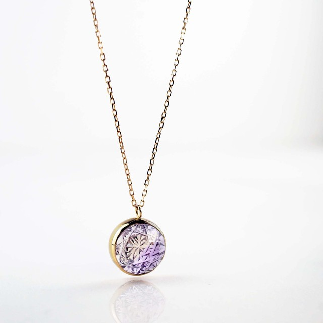 Ametrine KIRIKO Necklace (Round)