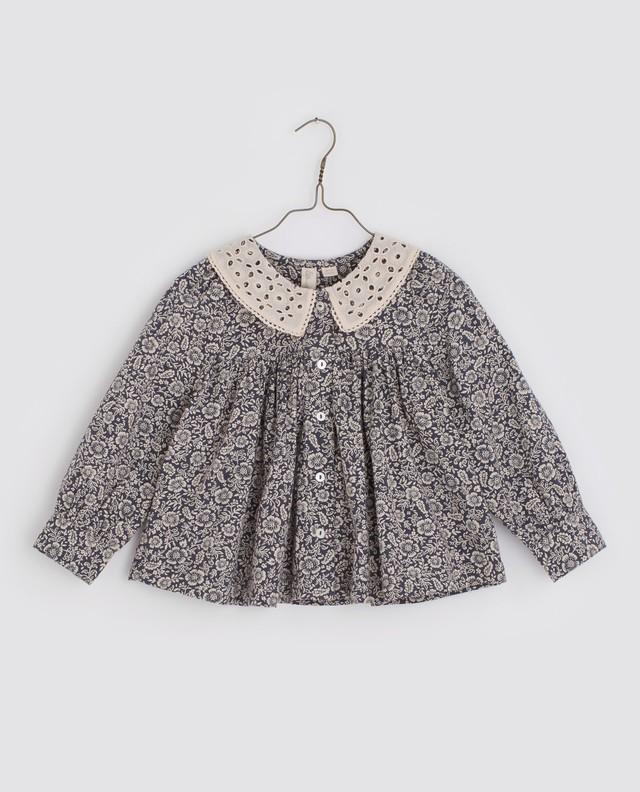 Little cotton clothes/Hazel blouse - paisley winter floral