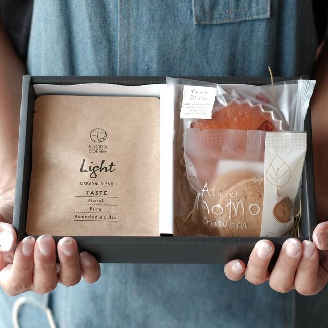 【送料無料|限定コラボギフト】コーヒーバッグ4袋×焼き菓子セット