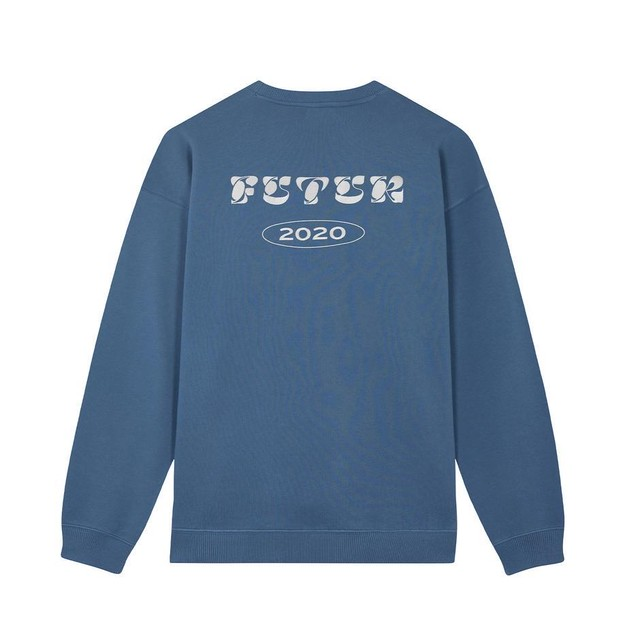 【FUTUR】 2020 G Fit Crew BLUE