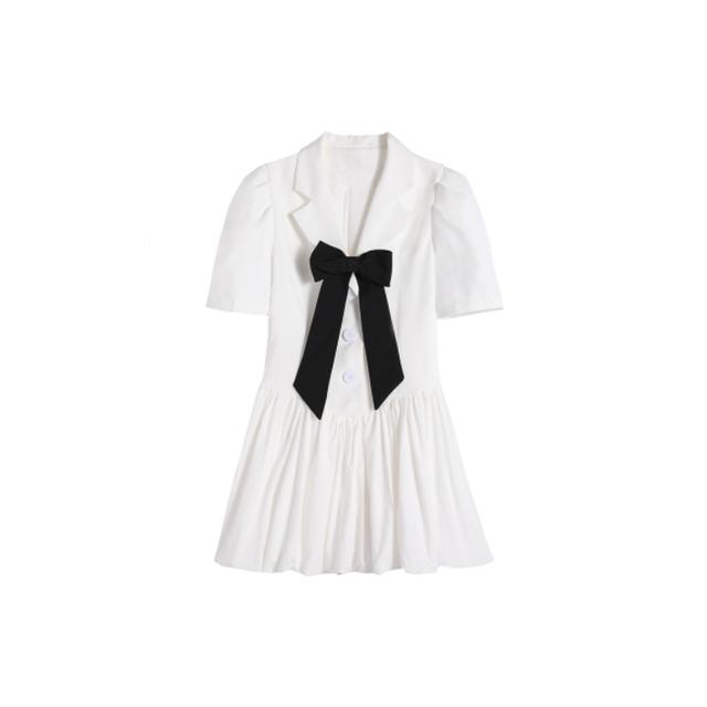 モノトーンリトルシャツドレス