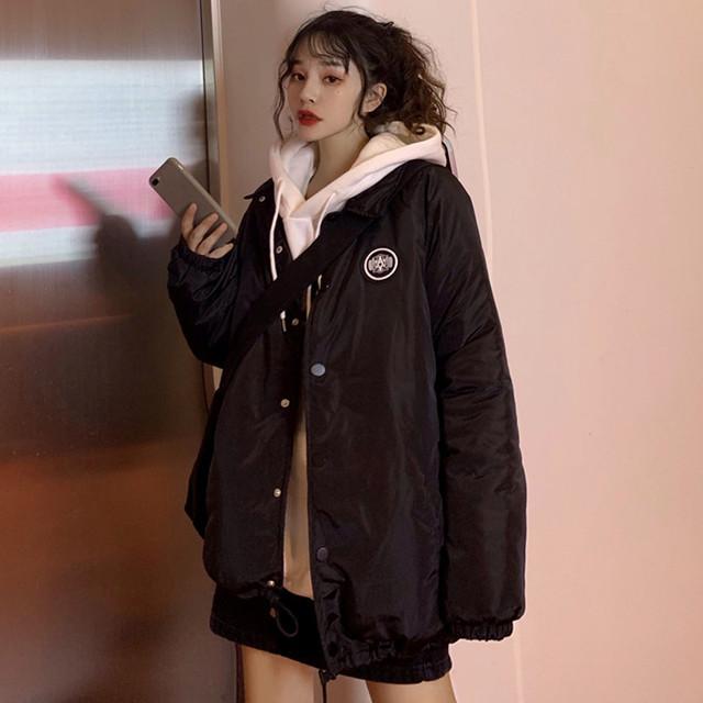 【アウター】ファッション長袖ジッパーダウンコート25150151