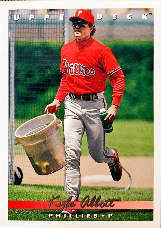 MLBカード 93UPPERDECK Kyle Abbott #300 PHILLIES
