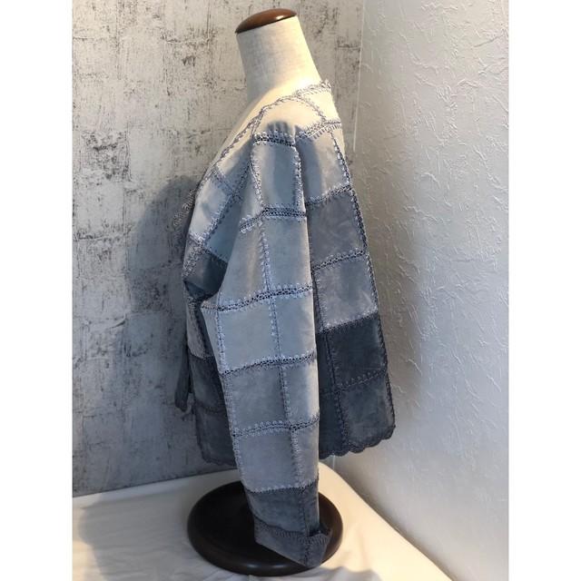 Gradation suède jacket