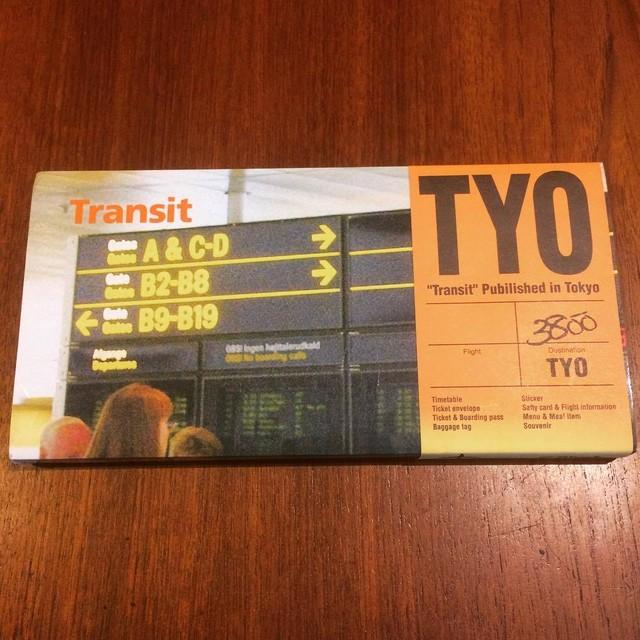 航空会社グラフィックデザイン集「Transit/Glyph.」 柳本浩市 - メイン画像