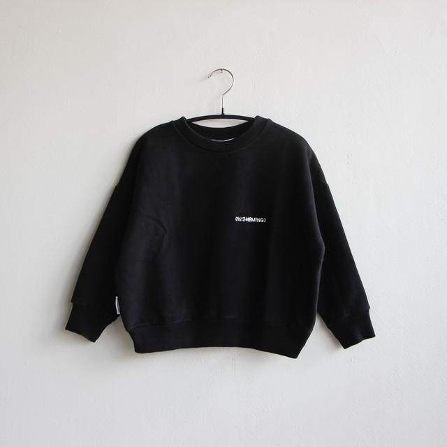 《MINGO. 2020AW》Sweater / logo black