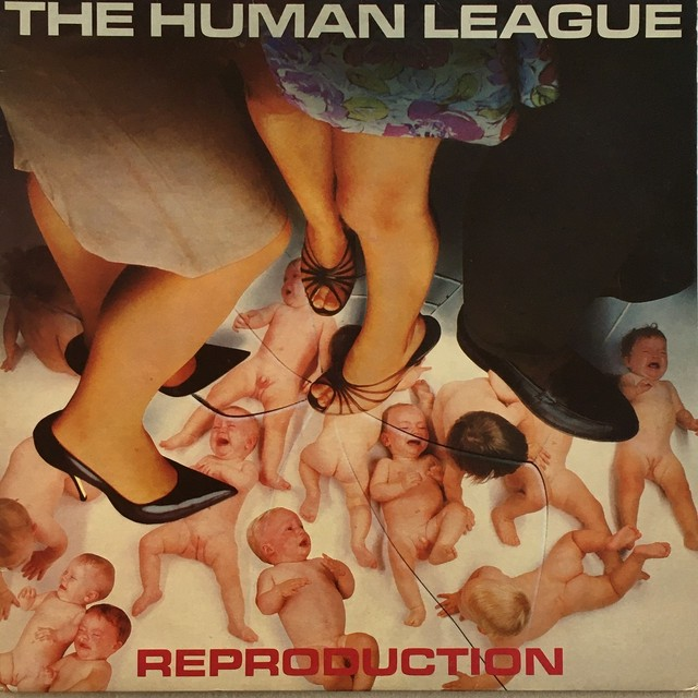【LP・英盤】The Human League  /  Reproduction