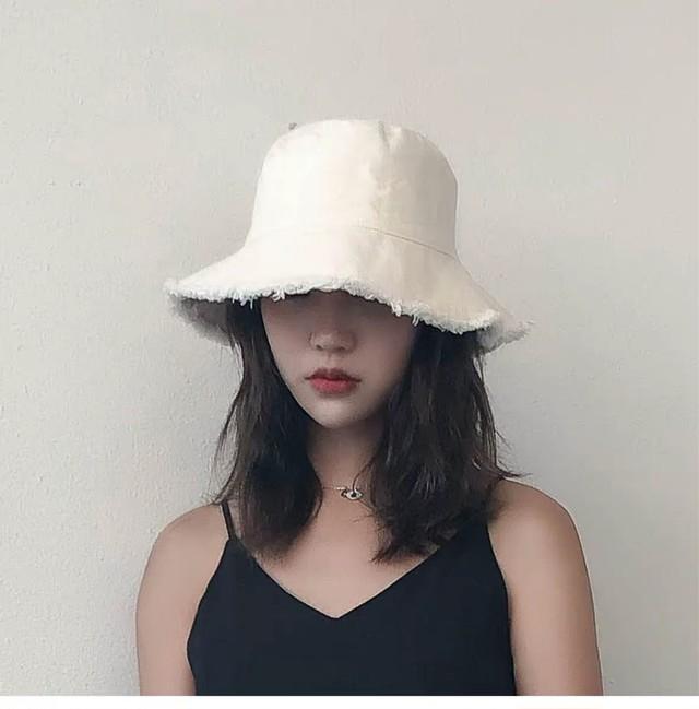 denim bucket hat 2c's