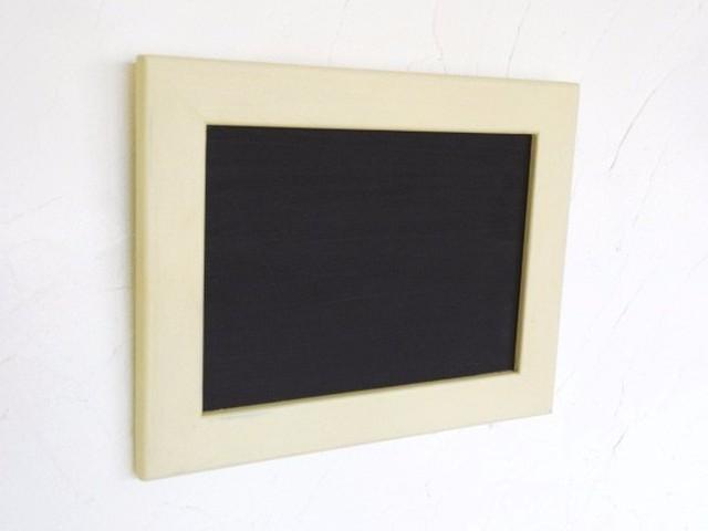 額付き黒板・メッセージボード(ホワイト)[送料無料]