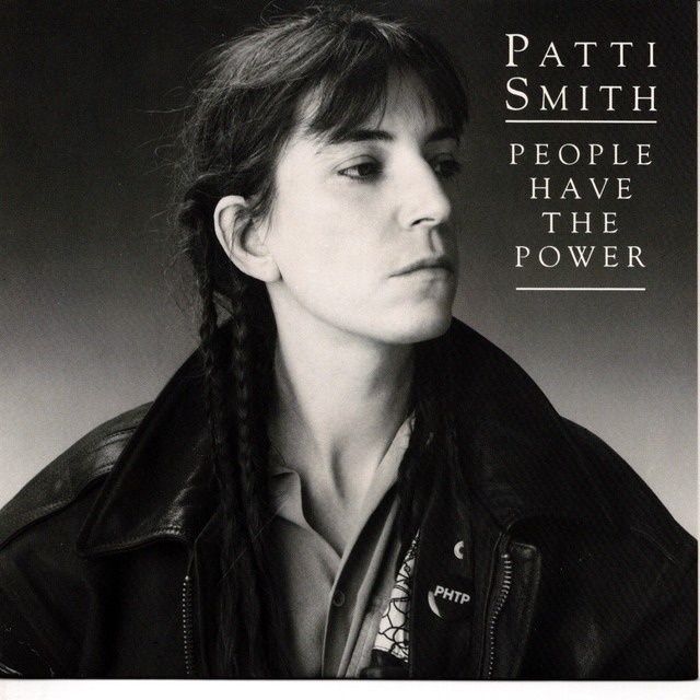 【7inch・米盤】PattiSmith  /  People Have The Power