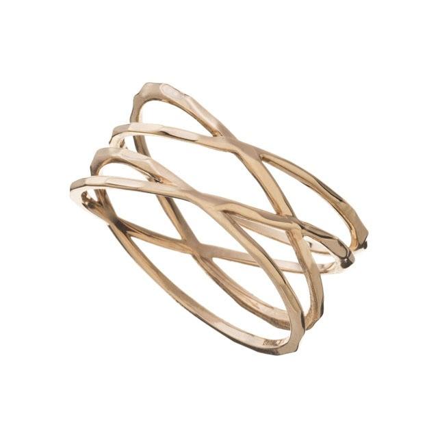K10 Wrap Ring 10金ラップリング ELR0003G