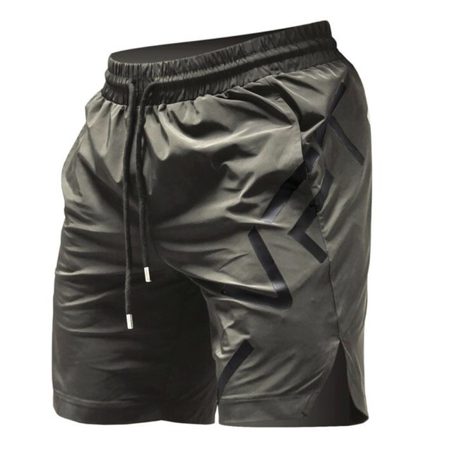 LIVE FIT Impact Shorts - Stone Green