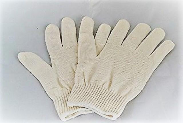 【sale】ガルシャナ手袋 白 100%×10枚セット価格