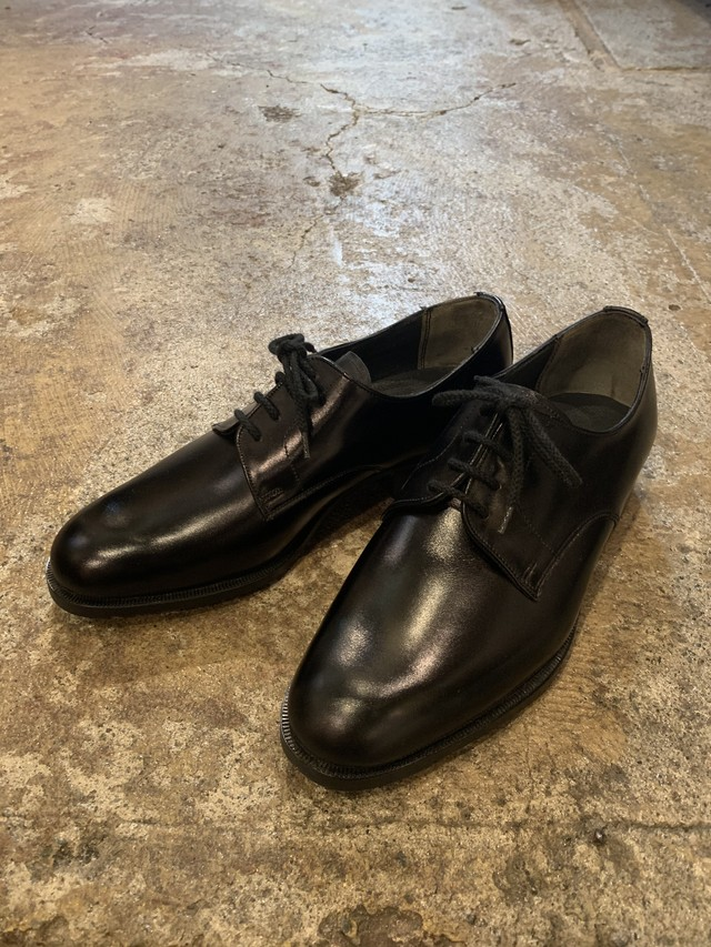 70-80's french army womens service shoes deadstock size/39