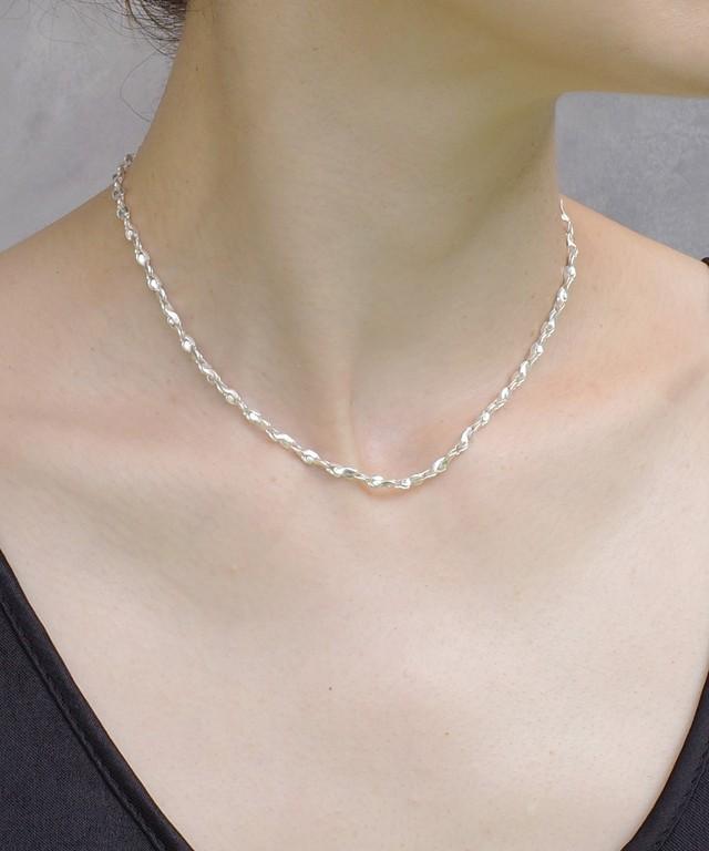 【ISOLATION / アイソレーション】SV925  Twist Chain Necklace