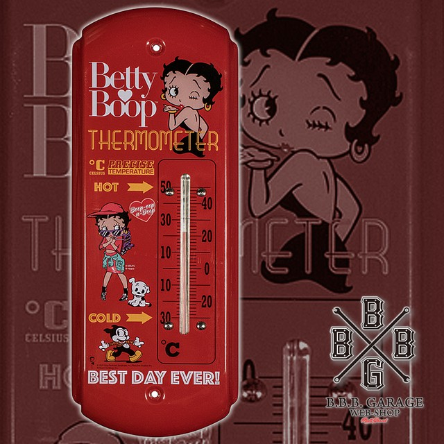 BETTY BOOP - Thermometer