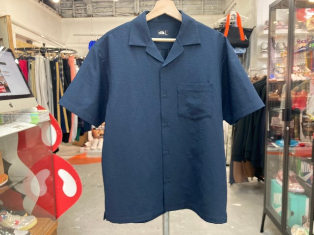 THE NORTH FACE CLIMBING SUMMER S/S SHIRT SHADY BLUE LARGE NR21931 10KB3245