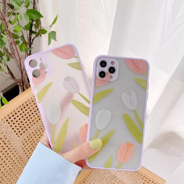 Tulip art iphone case