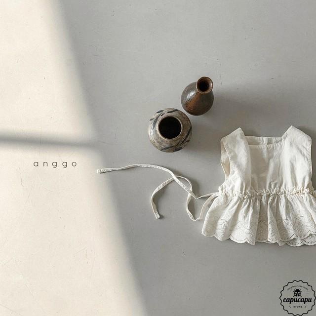 «予約» side ribbon lace vest サイドリボンレースベスト