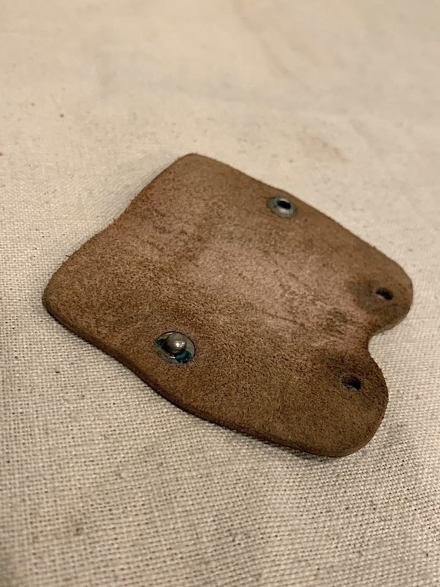 """LEATHER KEY CASE  """"WALLACE BUICK"""""""