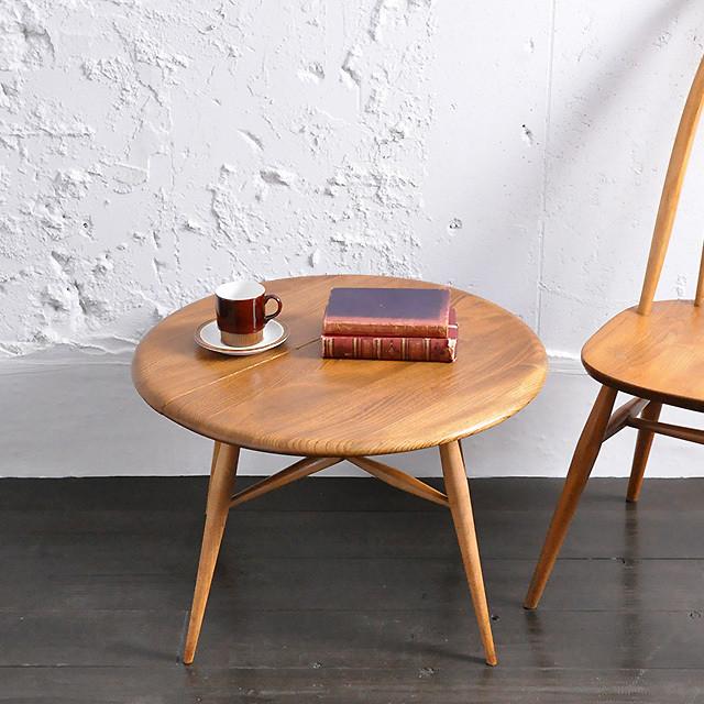 Ercol Coffee Table / アーコール コーヒー テーブル / 1806-0008