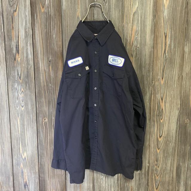 [used]BIG BILL black work shirt