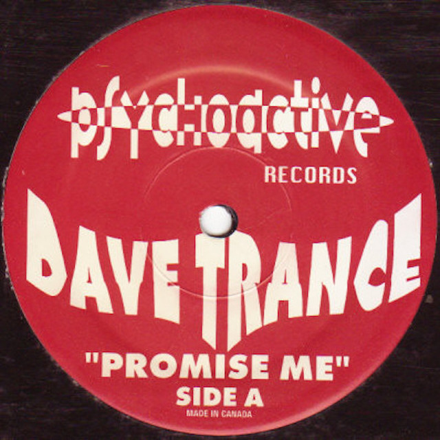 "DAVE TRANCE / Promise Me (12"")"
