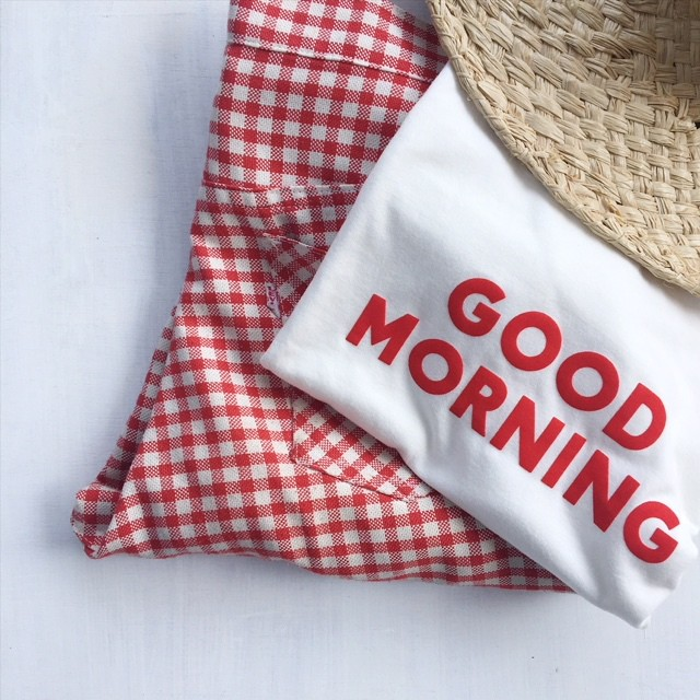 GOOD MORNING Tee Adult