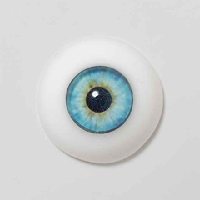 Silicone eye - 09mm LIGHTER Old Blue World