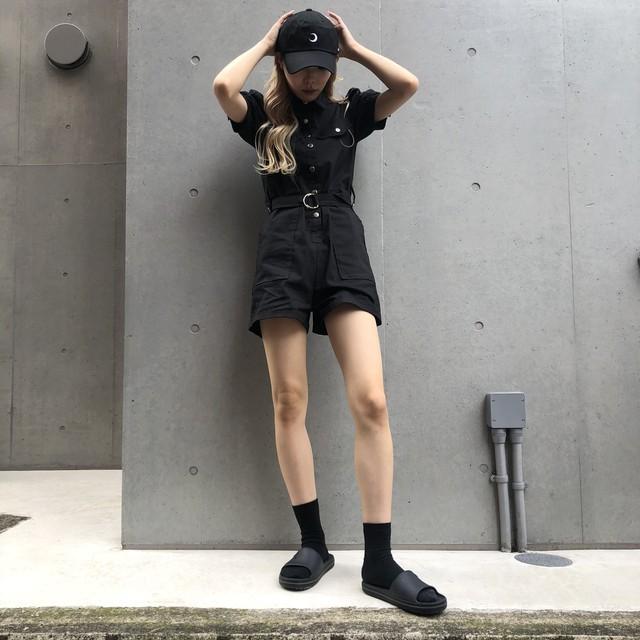 NANA *girly puff jumpsuit