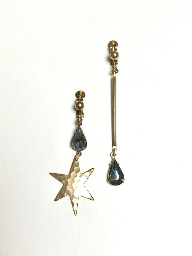 【TAMARI】Starglass drop earring / earring