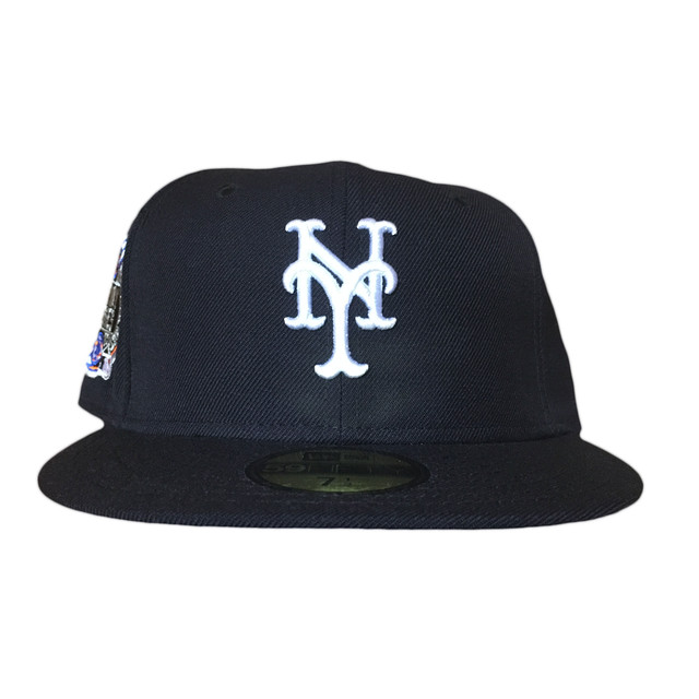Sale NEW ERA New York Mets Subway Series 59Fifty Fitted / Navy×White