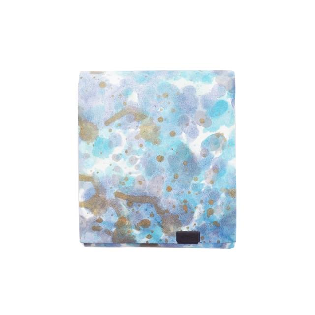 印象派 ショートウォレット2.0  ブルー